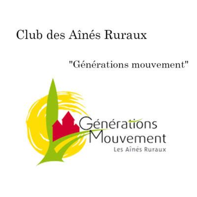 Club des Aînés Ruraux à Lagupie