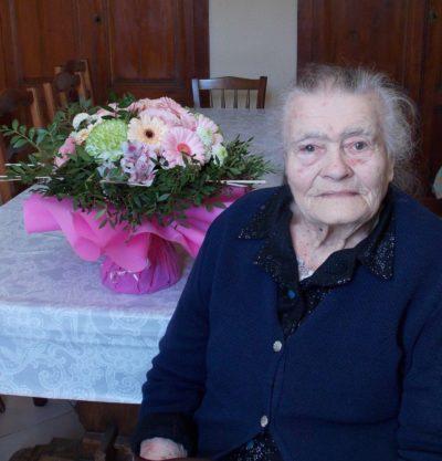 Une centenaire à Lagupie
