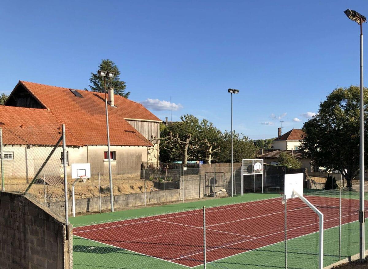 Terrain multisport à Lagupie